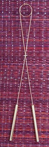 Wünschelrute aus Messing 40 cm | Radiästhesie Tensoren Pendel Ruten | Esoterik Geschenke günstig online kaufen