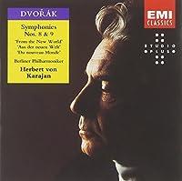 Symphonies 8 & 9 New World by H. Karajan