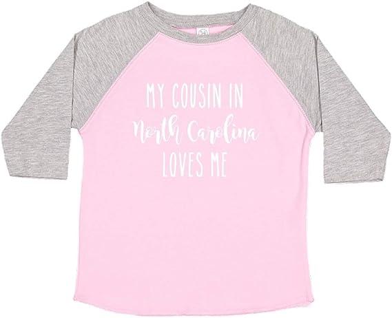 Toddler//Kids Sweatshirt My Cousin in South Carolina Loves Me