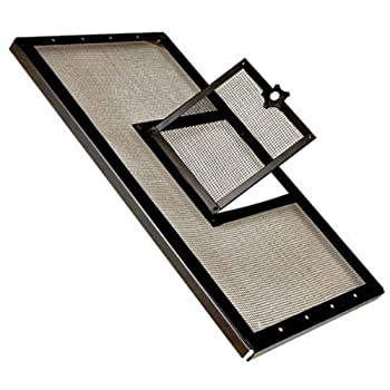 Zilla Fresh Air Screen Cover with Hinged Door - 30  x 12