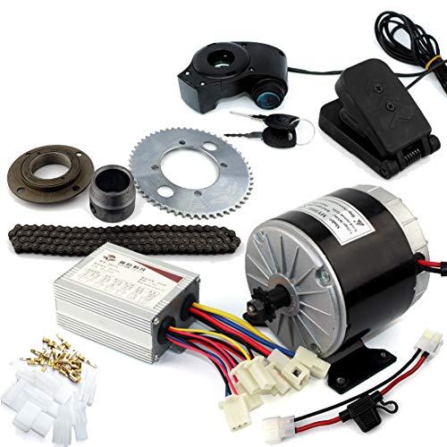 Sistema del motor de 24V36V 350W Motor Gokart eléctrico con el pedal...
