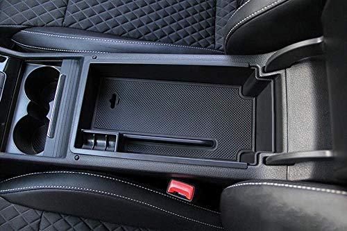 LFOTPP Superb Handschuhfach Armlehne Aufbewahrungsbox Center Console Armrest Storage Box Innen Schwarz