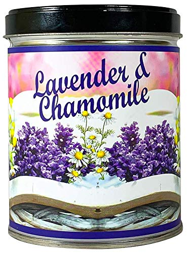 Our Own Candle Company Lavender Chamomile Scented Candle in 13 Ounce Tin