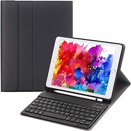 Satohom Keyboard Case for iPad 10.2 Inch 8th 7th Generation Bluetooth Keyboard for iPad 10.2 inch 2020 2019 Detachable Wireless Keyboard Cover for iPad Air 3 10.5 Inch 2019 iPad Pro 10.5 Inch 2017