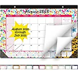 Desk Calendar 2020-2021: Large Monthly Pages 21 x 14 Inches Runs from August 2020 Through July 2021-12 Monthly...
