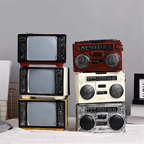 Welkom thuis decoraties Retro Vintage Radio Decoratie Creatieve Woonkamer Wijnkast Decoratie Kamer Decoratie accessoires