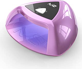 MelodySusie Professional LED UV Nail Lamp - Smart Gel Nail Dryer Mixed LED UV Light Beads Curing All Brands LED UV Gel Nail Polish with White Light for Eye-Protect