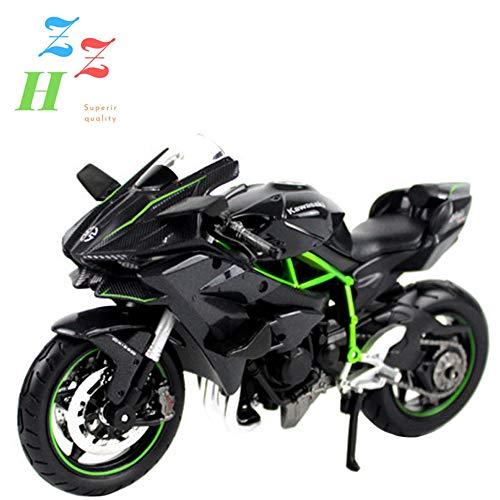 ZZH Kawasaki Ninja H2R Edición Especial Ensamblar Kit De Moto Modelo 1:12 Escala,A
