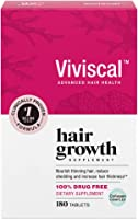 Viviscal Women's Hair Growth Supplements for Thicker, Fuller Hair | Clinically Proven with Proprietary Collagen Complex...