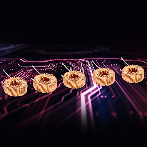 Cable inductor 100UH, bobina inductora estable...
