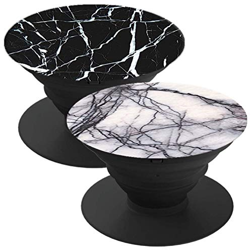 2 Pack Phone Holder Suitable for almost Smartphones and Tablets Marble