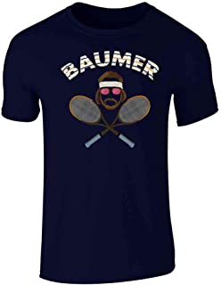 Baumer Richie Tennebaum Tennis Halloween Costume Graphic Tee T-Shirt for Men