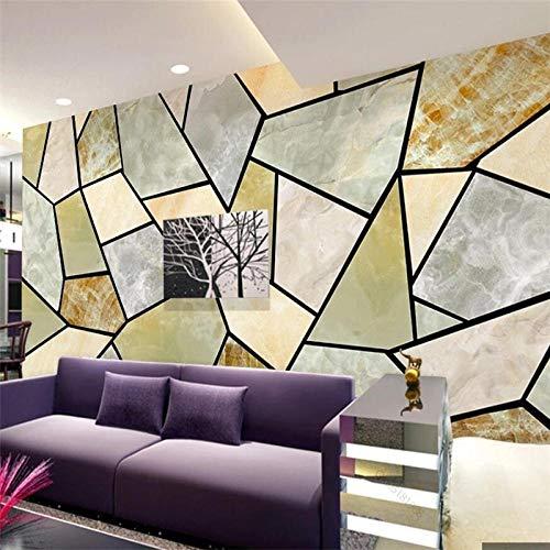 Angepasste Große Wand 3D Wandtapete Moderne Minimalistische Marmor Geometrische Linien Tv Hintergrund Wohnzimmer Schlafzimmer Tapete-200 * 140 Cm