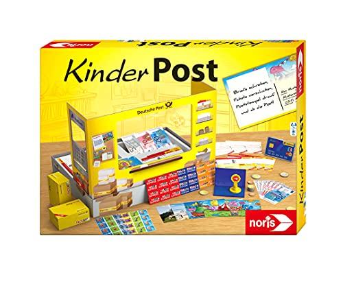 Noris 606011236 Kinderpost, Klassisches Kinder Rollenspiel, inkl. Postschalter...