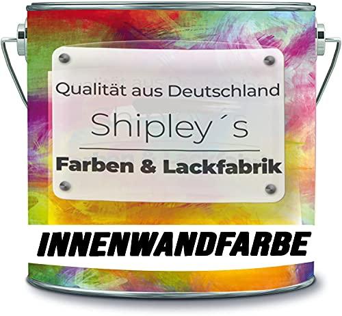 Shipley's Farben & Lackfabrik Innenwandfarbe Bunt hochdeckend lösemittelfrei 1x streichen deckend (1 l, Vintage Pink)