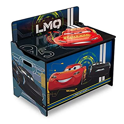 Delta Children Deluxe Toy Box, Disney/Pixar Cars, Character