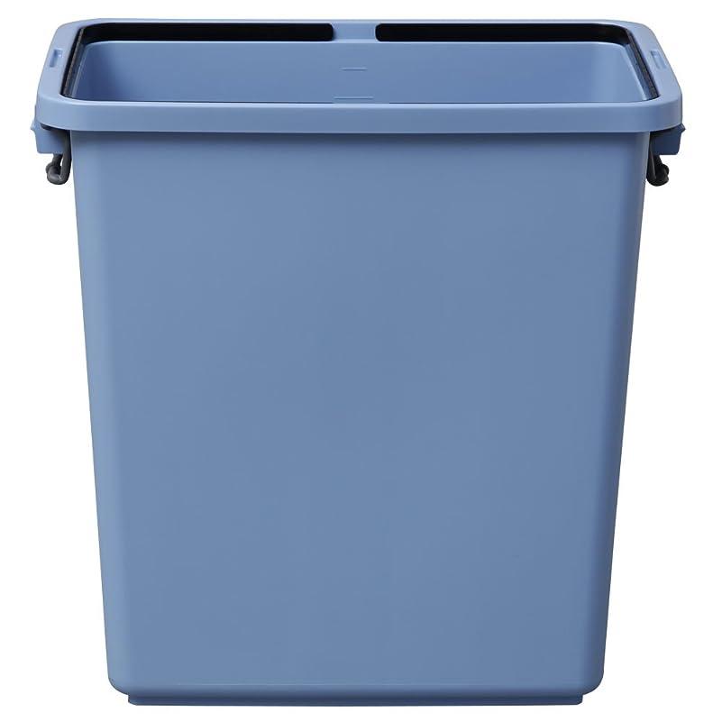 調停する間接的にはまってアイリスオーヤマ ゴミ箱 角型 ブルー 90L 幅61.6×奥行37.2×高さ61.4cm PK-90