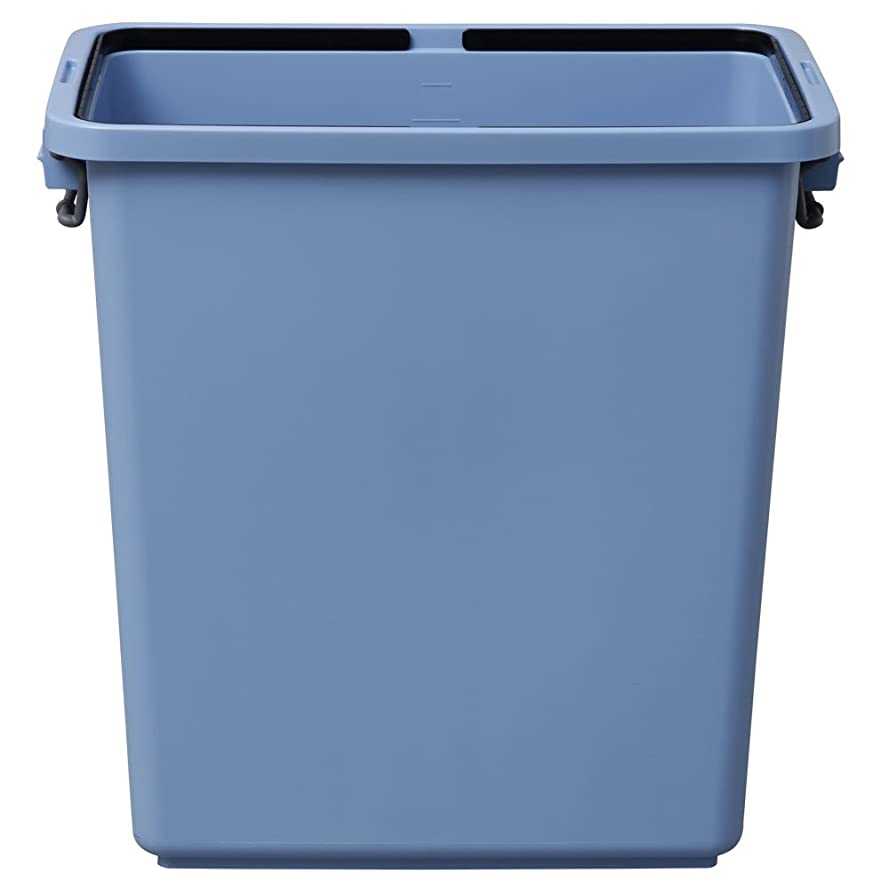 世界記録のギネスブック暴君虫を数えるアイリスオーヤマ ゴミ箱 角型 ブルー 90L 幅61.6×奥行37.2×高さ61.4cm PK-90
