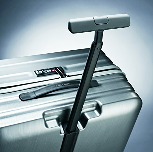 Samsonite Inova Hardside Luggage with Spinner Wheels, Metallic Silver, Carry-On 20-Inch