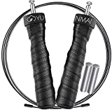 YUNMAI Skipping Rope Adult-Jump Rope Fitness,Boxing,2 Cables (for Speed+Power Endurance),1LB Weigh