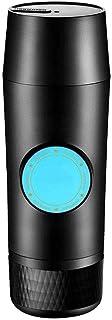 never give up Cafetera portátil, modo de un botón, compatible con cápsula Nespresso, máquina para acampar fácil de usar (c...