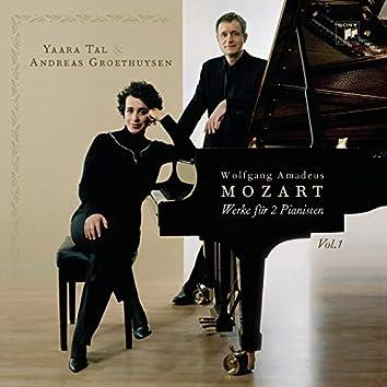 Mozart: Works for Two Pianists/Werke für zwei Pianisten, Vol. 1