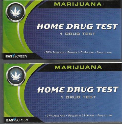 Easy Screen Marijuana Home Drug Test Kit 1 Per Box (2 Pack)