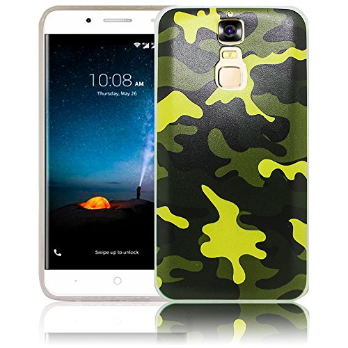 Compatible ZTE Blade A610 Plus A610+ Camouflage Army