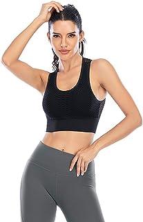 Womens Beauty Back Sports Bra Yoga Tops High-Strength Shock-Proof Sport Underwear Running Workout Bra