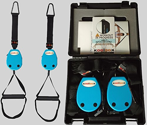 KOOLOOK KAST Twin Blue Automatic Suspension Exerciser
