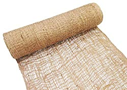 Jute netting for landscaping