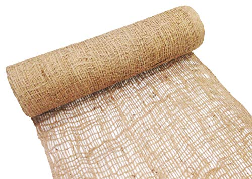 Sandbaggy Jute Netting  225 ft Length by 4 ft WidthRoll   Tough Erosion Control Matting Blanket  Stops Erosion On Hills & Slopes   Trusted by Contractors & Homeowners Across America (1 Roll)