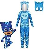 Disfraz de Catboy PJ Connor | Gekko | Owlette Disfraces de Cosplay con máscara para...