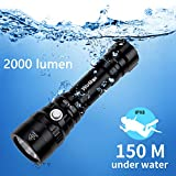 Diving Flashlight, Waterproof...