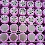 18.650 Batería de Litio 2500Mah Power 5C Exprimidor de Coche eléctrico de Alta Velocidad Herramienta eléctrica Batería Recargable-2 Piezas Se Pueden Utilizar para baterías Recargables para linternas