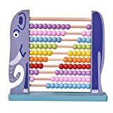 MICKYU Large Wooden Abacus Toy- Classic Educational Counting Math Toys for Kids with 100 Beads