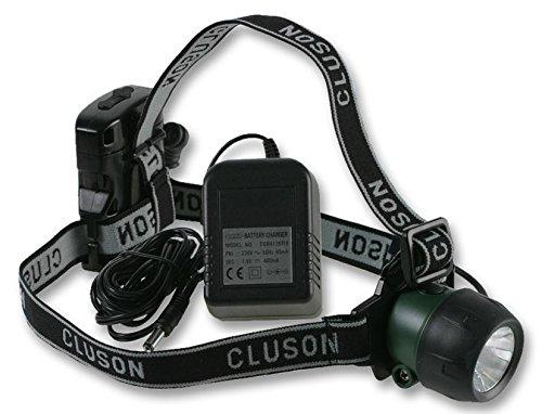 clulite HL10 Lampe frontale 1 W rechargeable [1] (marque certifié)