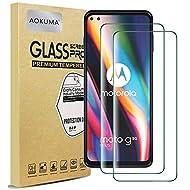 AOKUMA MotorolaMotoG5GPlus Tempered Glass Screen Protector, [2 Pack] Premium Quality Guard Film,...