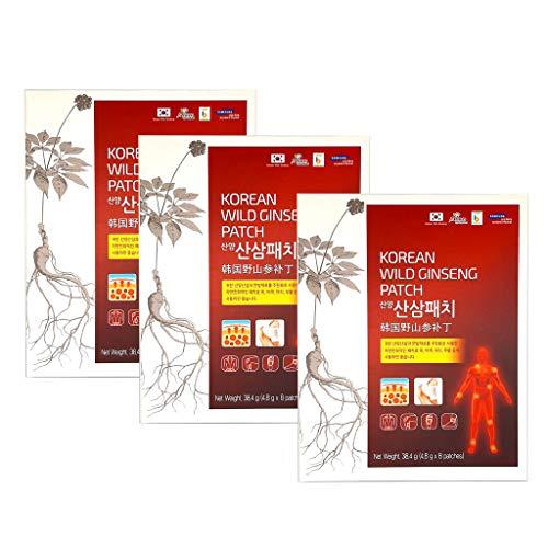 Pack of 3 Korean Wild Ginseng Pain …