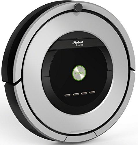 iRobot Roomba 886Staubsaugerroboter (beutellos, für Teppiche, Laminat, Linoleum, Parkett und Holzböden) schwarz/grau - 3