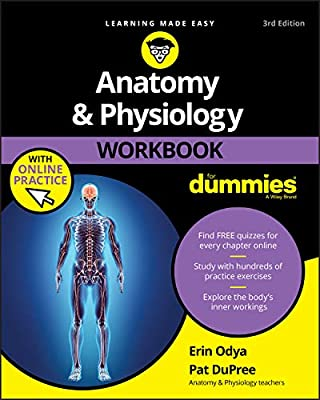 Anatomy & Physiology Workbook For Dummies with Online Practice from John Wiley & Sons