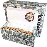 Piratube EXTRA 4 cajas de 300 tubos de cigarrillos Extras con filtros largos