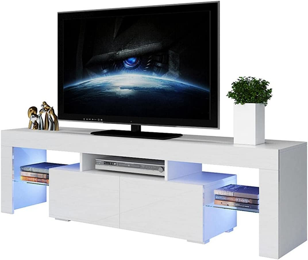 Safety and trust Rashinka Inch Sales for sale TV Stand White Center Atand - Enterta8Nment