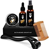 Best Derma Rollers - Beard Growth Kit Derma Roller with Biotin Beard Review