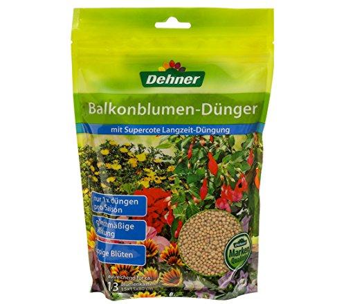 Dehner Balkonblumen-Dünger mit Langzeitwirkung, 1.3 kg, für ca. 13 Blumenkästen
