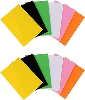 Jili Online 12Pcs 2MM Foam Sheets Super Tough Fly Tying Materials Crafts 6 Mixed Colors