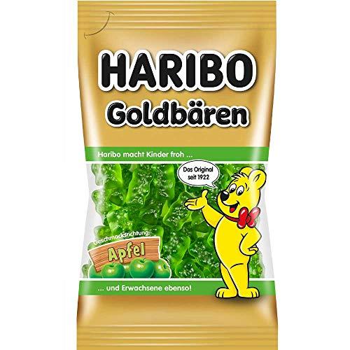 Haribo Goldbären Apfel sortenrein (75g Beutel)