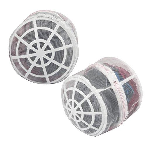 Vivifying BH-Wäschebeutel, 2 Stück Langlebige Wäschebeutel für Dessous mit Reißverschluss für BH, Unterwäsche, Feinwäsche, Socken
