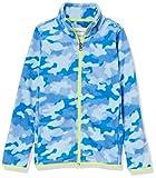 Amazon Essentials Polar Fleece Full-Zip Mock Jackets Chaqueta de Forro, Camuflaje Cobalto, 2 años