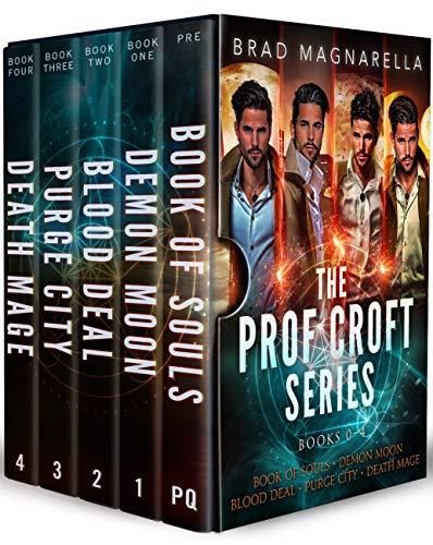 The Prof Croft Series: Books 0-4 (Prof Croft Box Sets Book 1)
